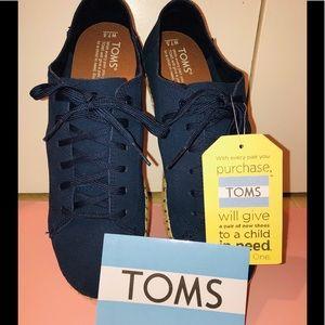 TOMS Suede Sneakers